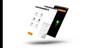 Erweiterungen zur Rollstuhlsteuerung munevo PHONE, App-Ansicht
