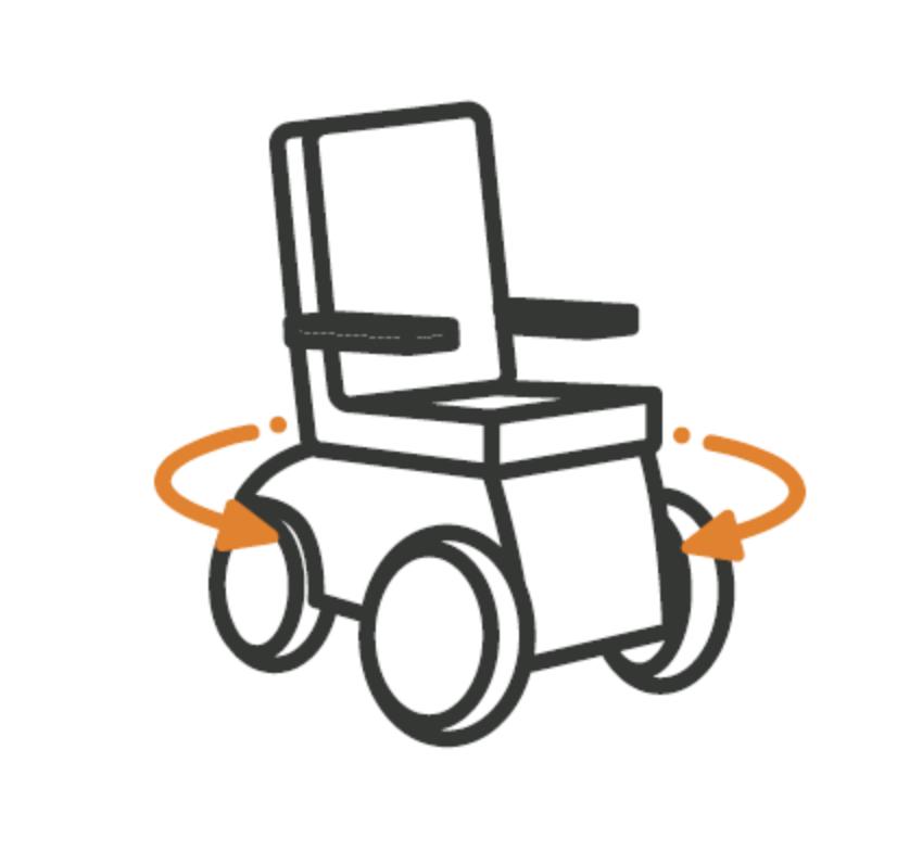 Rollstuhlsteuerung