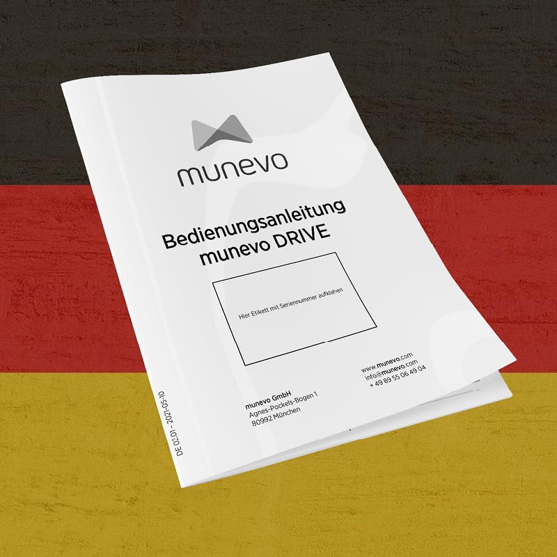 munevo DRIVE – Bedienungsanleitung deutsch